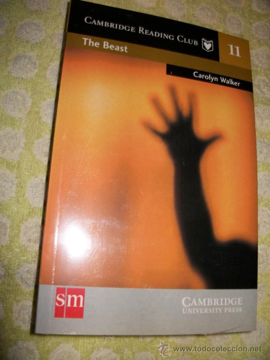 THE BEAST + AUDIOLIBRO – CAROLYN WALKER - LEVEL 3 – SM – 2 CD – PRECINTADO - EN INGLES (Libros Nuevos - Idiomas - Inglés)