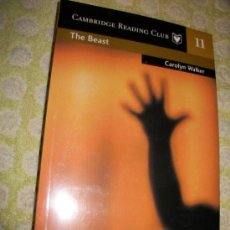 Libros: THE BEAST + AUDIOLIBRO – CAROLYN WALKER - LEVEL 3 – SM – 2 CD – PRECINTADO - EN INGLES. Lote 26941430