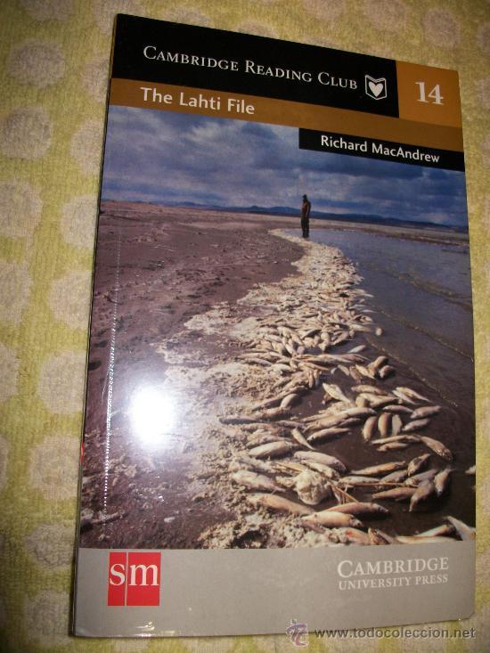 THE LAHTI FILE + AUDIOLIBRO – RICHARD MAC ANDREW - LEVEL 3 - SM – 2 CD – PRECINTADO - EN INGLES (Libros Nuevos - Idiomas - Inglés)