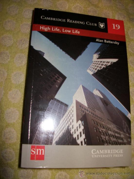 HIGH LIFE LOW LIFE + AUDIOLIBRO – ALAN BATTERSBY – LEVEL 4 - SM – 2 CD – PRECINTADO . EN INGLES (Libros Nuevos - Idiomas - Inglés)