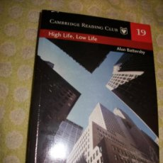 Libros: HIGH LIFE LOW LIFE + AUDIOLIBRO – ALAN BATTERSBY – LEVEL 4 - SM – 2 CD – PRECINTADO . EN INGLES. Lote 26946450