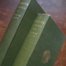 Libros: THOMAS HARDY'S WORKS: THE DYNASTS A DRAMA - 1906 - HARDY - 2 TOMOS 1906 (. Lote 25545601