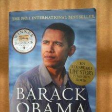 Livres: BARACK OBAMA, DREAMS FROM MY FATHER, NATIONAL BEST SELLER, 2007, 442 PAG. (EN INGLES).. Lote 25566905