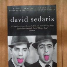 Libros: BARREL FEVER, POR DAVID SEDARIS, 2008, 245 PAG. (EN INGLES).. Lote 25571086