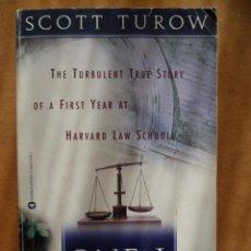 Libros: ONE L, POR SCOTT TUROW, 1997, 287 PAG. (EN INGLES).. Lote 25574214