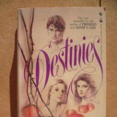 Libros: DESTINIES, POR CHARLOTTE VALE ALLEN,1982, 375 PAG. (EN INGLES).. Lote 25600188