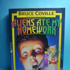 Libros: ALIENS ATE MY HOMEWORK. BRUCE COVILLE. 1993. A MINSTREL BOOK. LIBRO EN INGLÉS.. Lote 32912558