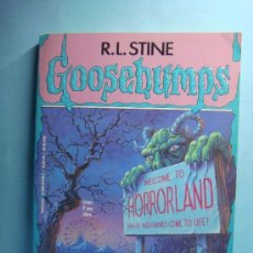 Libros: GOOSEBUMPS. ONE DAY AT HORRORLAND. LIBRO EN INGLÉS. SCHOLASTIC. PESADILLAS. Lote 32912629