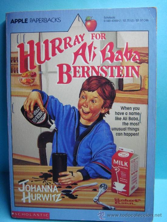 HURRAY FOR ALI BABA BERNSTEIN. JOHANNA HURWITZ. SCHOLASTIC.1990. LIBRO EN INGLÉS. (Libros Nuevos - Idiomas - Inglés)