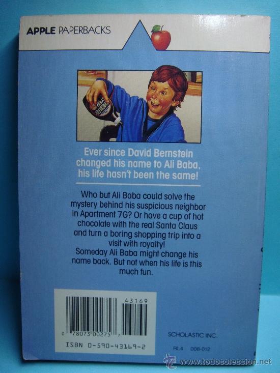 Libros: Hurray for Ali Baba Bernstein. Johanna Hurwitz. Scholastic.1990. Libro en inglés. - Foto 2 - 32912748