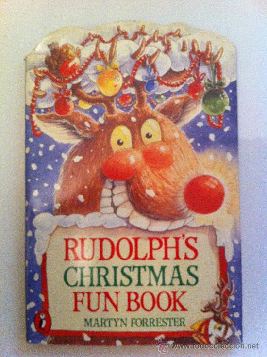 RUDOLPH´S CHRISTMAS FUN BOOK. MARTYN FORRESTER. LIBRO EN INGLÉS.1990. PUFFIN BOOK (Libros Nuevos - Idiomas - Inglés)