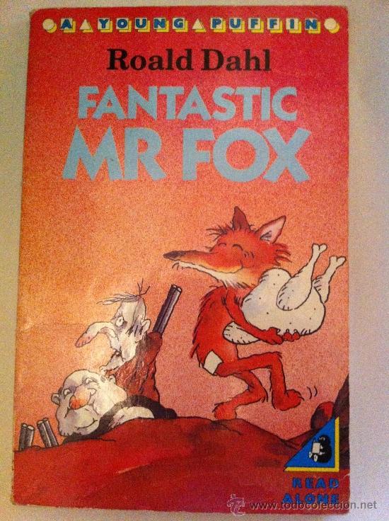FANTASTIC MR FOX. ROALD DAHL. A YOUNG PUFFIN. 1988. LIBRO EN INGLÉS (Libros Nuevos - Idiomas - Inglés)