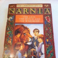 Libros: THE CHRONICLES OF NARNIA. THE LION, THE WITCH AND THE WARDROBE. LIBRO EN INGLÉS. C.S. LEWIS. 1991. Lote 35019106