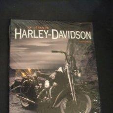 Libros: HARLEY DAVIDSON - LA LEGENDE - TOD RAFFERTY - EDITIONS ATLAS - NUEVO, ESTA PRECINTADO - . Lote 35686700