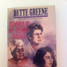 Libros: LIBRO EN INGLES. SUMMER OF MY GERMAN SOLDIER. BETTE GREENE. 1993. Lote 36525318
