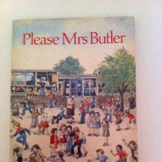 Libros: LIBRO EN INGLÉS. PLEASE MRS BUTLER. ALLAN AHLBERG. A PUFFIN BOOK. 1983. Lote 36525404