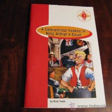 Libros: A CONNECTICUT YANKEE IN KING ARTHUR,S COURT POR MARK TEAIN. Lote 37299737