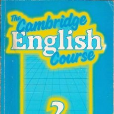 Libros: THE CAMBRIDGE ENGLISH COURSE 2 PRACTICE BOOK MICHAEL SWAN AND CATHERINE WALTER. Lote 39613246