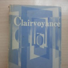 Libros: CLAIRVOYANCE. C.W. LEADBEATER. Lote 40430471