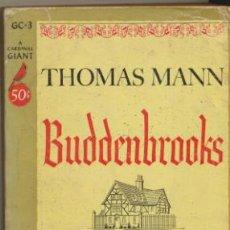 Libros: THOMAS MANN. BUDDENBROOKS. POCKET BOOKS 1953.. Lote 40608334