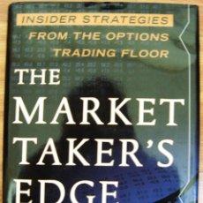 Libros: LIBRO THE MARKET TAKER'S EDGE (EN INGLÉS). Lote 40634832