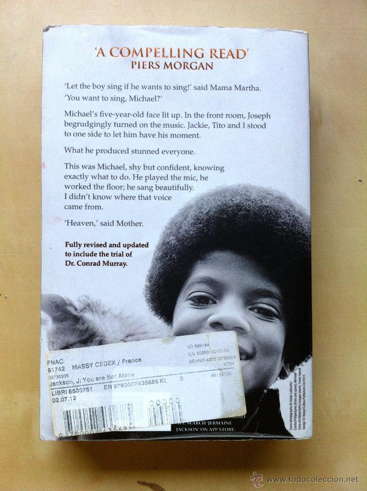Libros: You are not alone, Michael - Biografía de Michael Jackson en inglés escrita por su hermano Jermaine - Foto 2 - 41283742