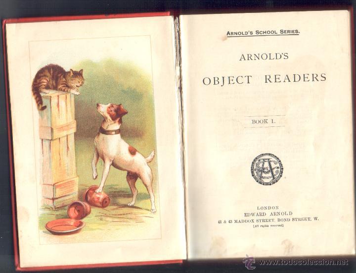 Libros: 1 LIBRO EN INGLÉS ** OBJECT READERS - ARNOLD´S SCHOOL SERIES ** BOOK I - EDWARD ARNOLD - Foto 2 - 41551138