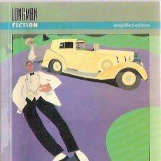 Libros: THE GREAT GATSBY F SCOTT FITZGERALD LONGMAN FICTION 1993 SUBRAYADO. Lote 42167374