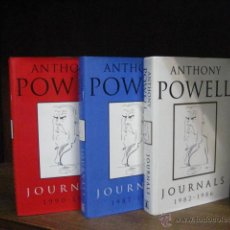 Livros: ANTHONY POWELL, JOURNALS 1982 1992 , 3 VOLUMES, 3 TOMOS EN INGLES, NUEVOS P4. Lote 43105168