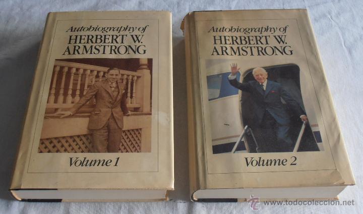 AUTOBIOGRAPHY OF HERBERT W. ARMSTRONG, (Libros Nuevos - Idiomas - Inglés)