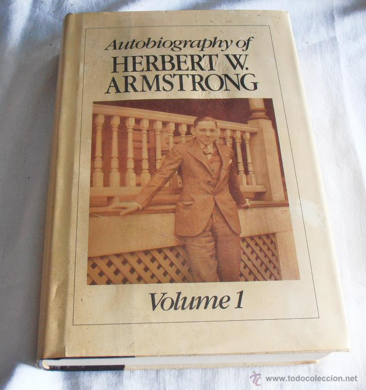 Libros: AUTOBIOGRAPHY OF HERBERT W. ARMSTRONG, - Foto 2 - 43405646