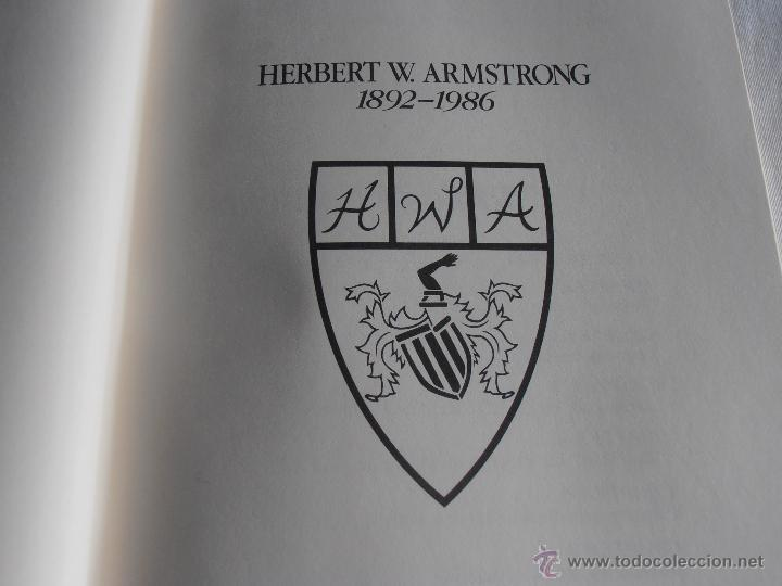 Libros: AUTOBIOGRAPHY OF HERBERT W. ARMSTRONG, - Foto 5 - 43405646