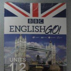 Libros: LIBRO Nº 1 BBC ENGLISH GO - UNIDADES 1 Y 2. Lote 43432139