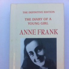 Libros: LIBRO EN INGLÉS. THE DIARY OF A YOUNG GIRL. ANNE FRNAK. TAPAS DURAS. 1995. Lote 43608360