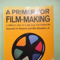 Libros: A PRIMER FOR FILM MAKING A COMPLETE GUIDE TO 16 AND 35MM FILM PRODUCTION. KENNETH H.. Lote 44713750