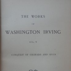 Livres: THE WORKS OF WASHINGTON IRVING.. Lote 45754464