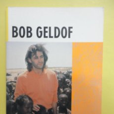 Libros: LONGMAN FAMOUS LIVES. BOB GELDOF.. Lote 46334274