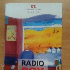 Libros: RADIO BOY. JOHN ESCOTT. RICHMOND READERS. STARTER LEVEL. 1998. Lote 154146506