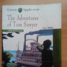 Libros: THE ADVENTURES OF TOM SAWYER. MARK TWAIN. AUDIO CD-ROM. BLACK CAT. 2013. LEVEL 3. CEFR A2. Lote 133628542