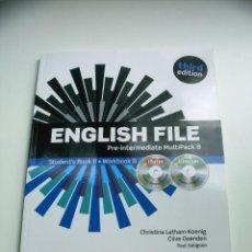 Libros: LIBRO DE 2º ESCUELA DE IDIOMAS PRE-INTERMEDIATE MULTIPACK B. Lote 51622575
