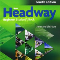 Libros: NEW HEADWAY BEGINNER:STUDENT'S BOOK AND ITUTOR DVD-ROM 4TH EDITION (NEW HEADWAY FOURTH EDITION). Lote 53240611