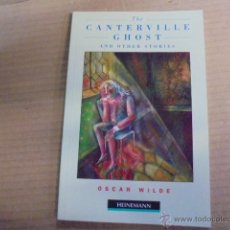 Libros: HEINEMANN ELEMENTARY -NIVEL 3 - WILDE / CANTERVILLE GHOST - FANTASMA - SIN USAR. Lote 53490966