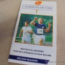 Libros: NELSON READERS LEVEL 2 - CHARIOTS OF FIRE - 600 WORDS - ILUSTRADO. Lote 53491003