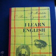 Libros: I LEARN ENGLISH 1 Y 2 MARIA MICHALSKA Y CELINA BEVEN-OYRZANOWKA 1998. Lote 54026801