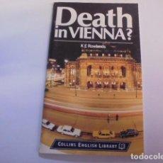 Libros: APRENDER INGLES NIVEL 4 - DEATH IN VIENNA - COLLINS ILUSTRADO. Lote 105899067