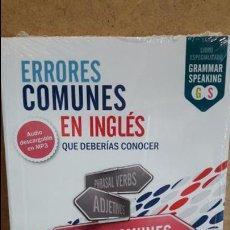 Libros: ERRORES COMUNES EN INGLÉS QUE DEBERÍAS CONOCER. ED / VAUGHAN - PRECINTADO.. Lote 155560798