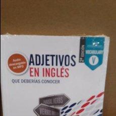 Libros: ADJETIVOS EN INGLÉS QUE DEBERÍAS CONOCER. ED / VAUGHAN / PRECINTADO.. Lote 111835282