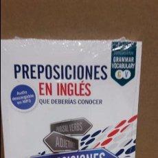 Libros: PREPOSICIONES EN INGLÉS QUE DEBERÍAS CONOCER. ED / VAUGHAN / PRECINTADO.. Lote 111835008