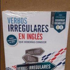 Libros: VERBOS IRREGULARES EN INGLÉS QUE DEBERÍAS CONOCER. ED / VAUGHAN - PRECINTADO.. Lote 96603088