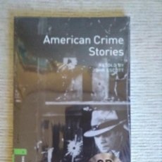 Libros: AMERICAN CRIME STORIES. CON CD. PRECINTADO. OXFORD BOOKWORMS.. Lote 103274555